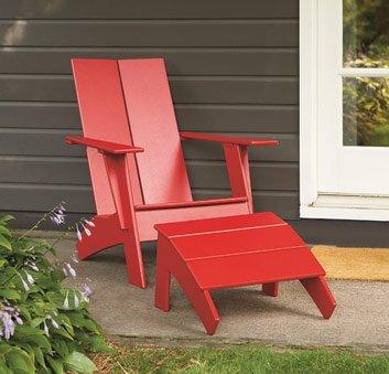 Loll Designs Adirondack Chairs Retro Modern Furniture Redefined